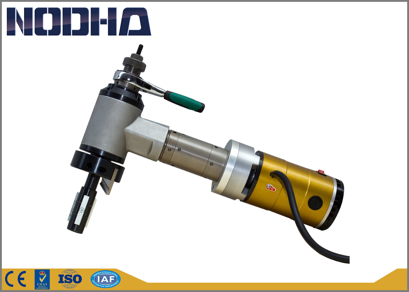 ID - Mounted Electric Driven Pipe End Beveling Machine NODHA Brand